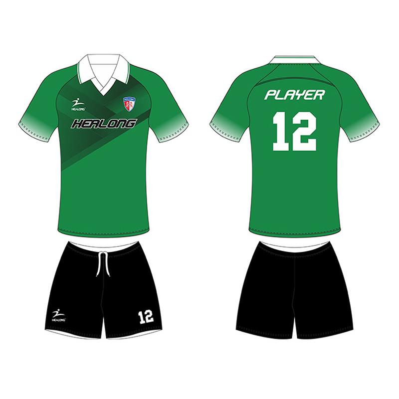 como escoger 100% de alta calidad mejor proveedor Coloree el último uniforme barato de encargo del fútbol de la sublimación  del diseño para los equipos