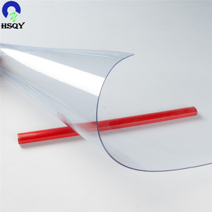 Soft PVC Sheet 1mm PVC Roll Transparent Super Clear Film
