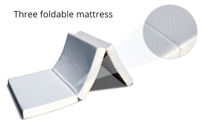 Hospital bed use waterproof cover foam medical mattress