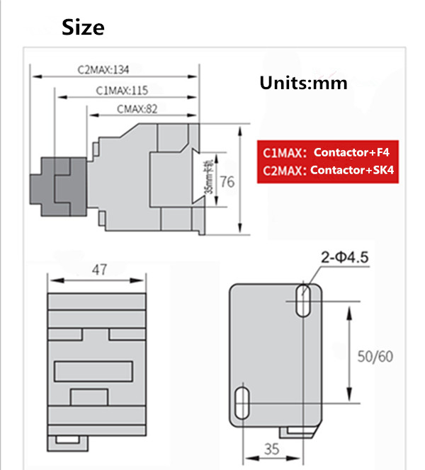 cjx2(LC1) Contactor Series lc1d1210 Ac Contactor 36v 24v 220v380v With Iec Standard magnetic contactor