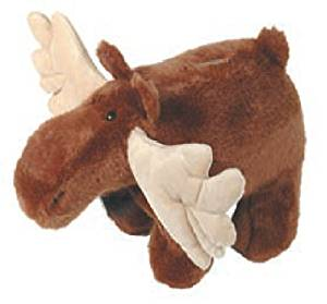 Carstens Plush Moose Kids Coin Bank
