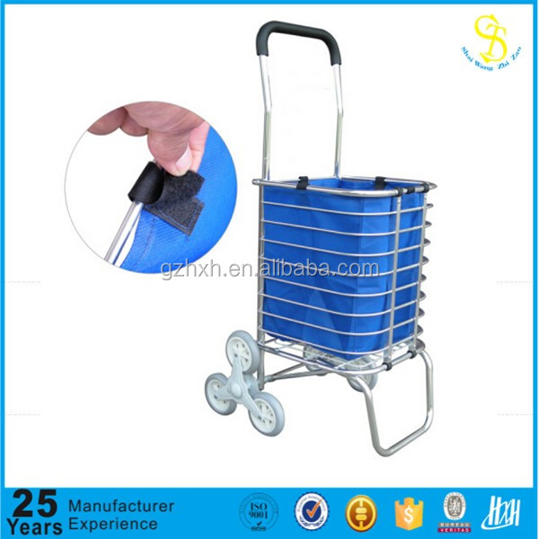 Handle climbing trolley cart, galley cart trolley, outdoor push trolley cart