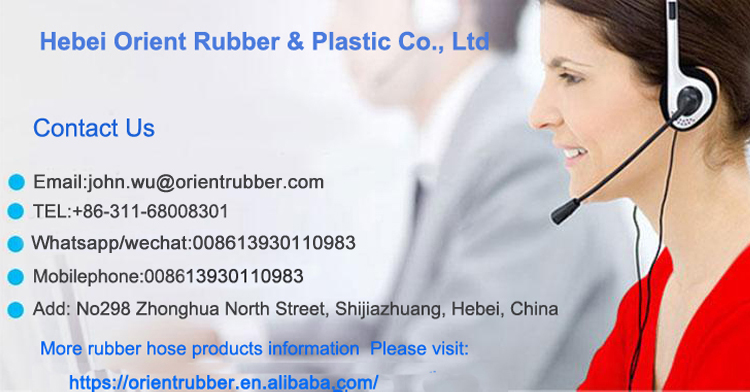 Cost-effective bendy abrasion resistant Wire Spiral Flexible Rubber Hydraulic Hose manufacturers