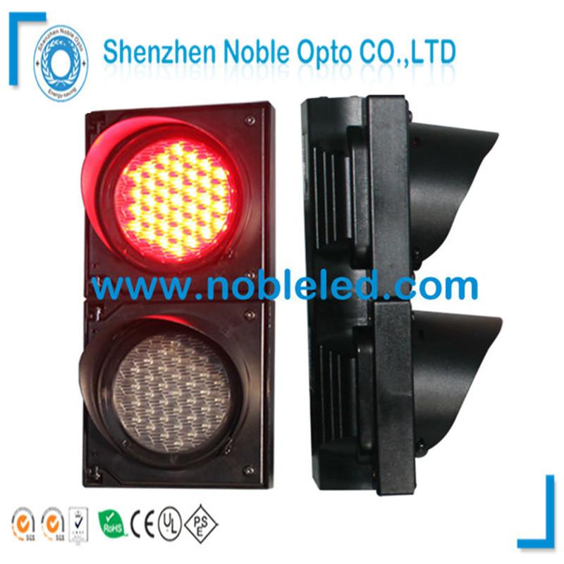 Настроены продукт 100 мм из светодиодов солнечной сигнал светофора для пешеходов дорога
