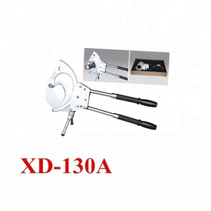 XD-130A 130mm CU&AL cable ratchet cable cutter