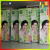 Knitted polyester thermal transfer printing X Stand Flex Banner