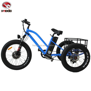 Gift three wheel bike for disabled present electric tricycle for handicapped