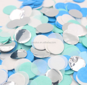 Gender Reveal Baby Shower Party Boy Decoration Mixed Blue Mint