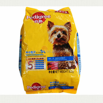 Iso Qs Certificate Custom Printed Pet Food Bags Dog Bag With Best Price