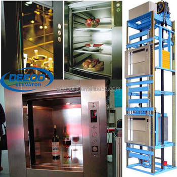 Cina Perumahan Stainless Steel Makanan Harga Lift Angkat Untuk Dapur Rumah