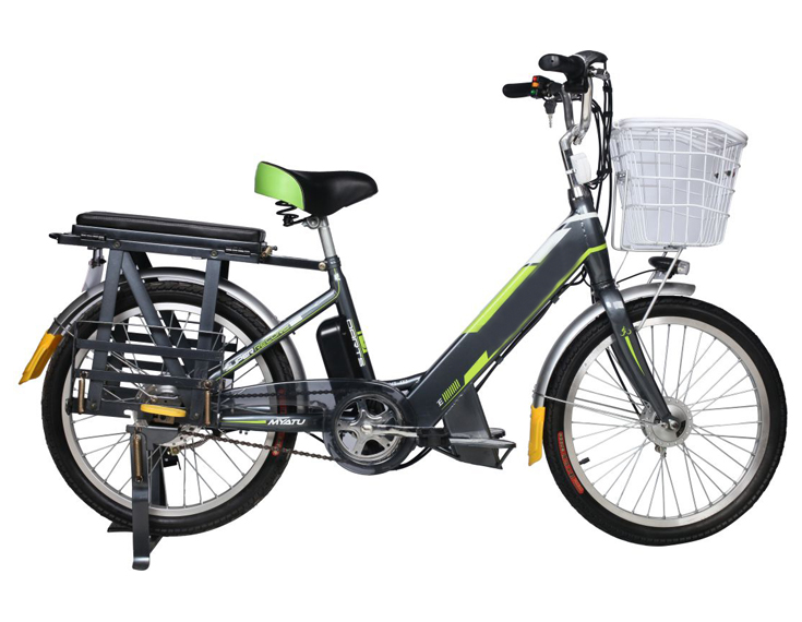 new chinese lithium battery power electric bike for sale with pedal and basket
