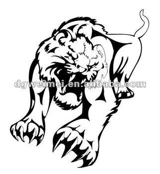 Tatuaje Tigre Tribal tigre tribal tatuajes temporales - buy tigre tatuajes temporales