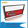 WELDON New Style Expandable Customized Metal Safety Cafe Barriers