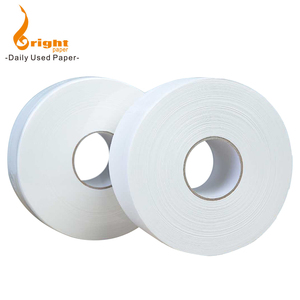 Quality Virgin Wood Pulp Recycled Hand Facial Napkin Toilet Tissue Paper Jumbo Reel Roll Price Making Supplier For Converting