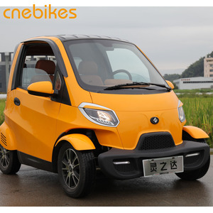 2018 EEC certification fashionable cheap 2 seat 4 wheel electric cars vehicle for sale