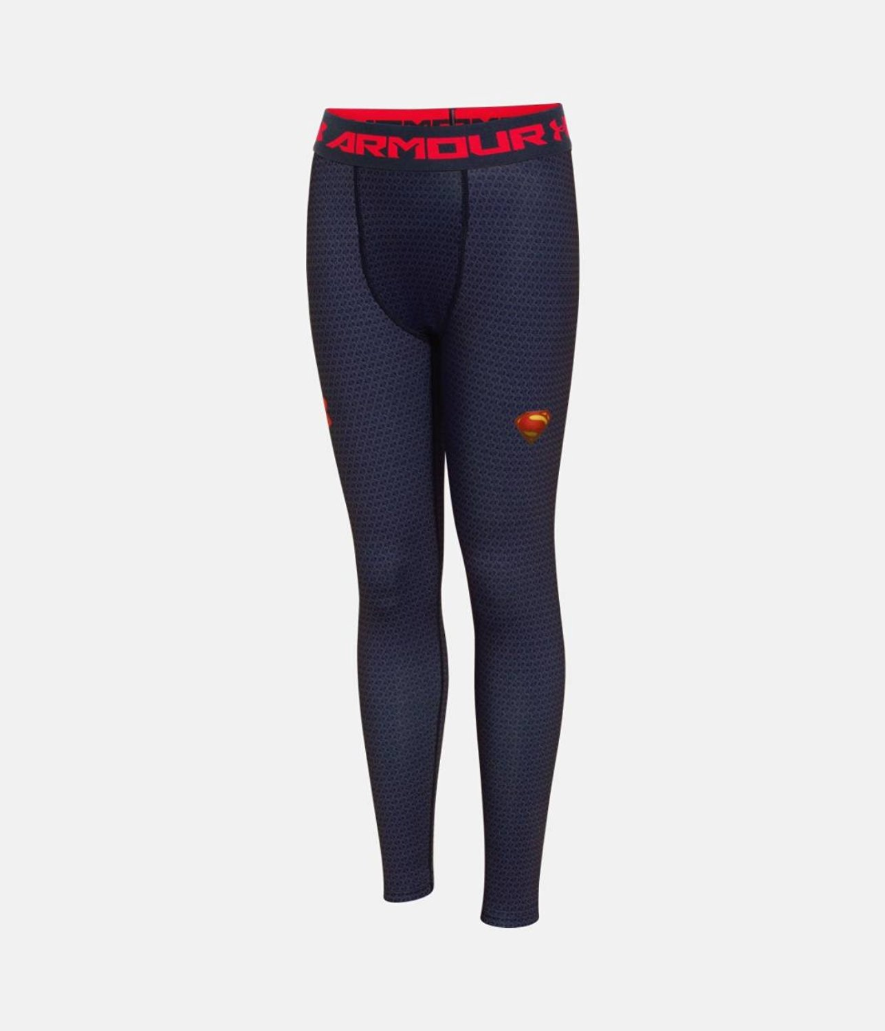 Under Armour Boys' Alter Ego Superman Fitted Leggings