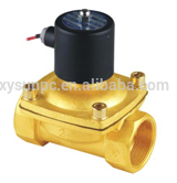 Brass Pneumatic components Fluid Control Valve High Quality 2W series 2w160-15 diaphragm control water solenoid valve