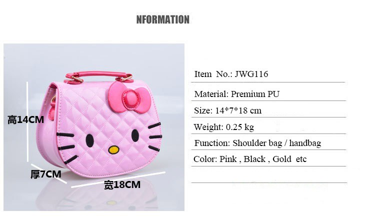 ... Gold Handbag For Child. Description  100% Brand New And High Quality   Main PU material  5f3dcce9accc1
