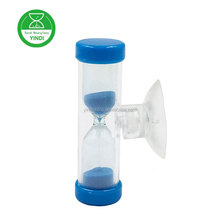Sweety mini hourglass 3min tea timer / plastic shot timer for baby shower souvenir gifts