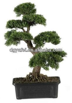 Bonsai Voor Binnen.Goede Kwaliteit Nieuw Product Dat Het Beste Decoratieve Kleine Artifcial Grenen Bonsai Boom Voor Binnen En Buiten Decoratie Buy Kleine Decoratieve