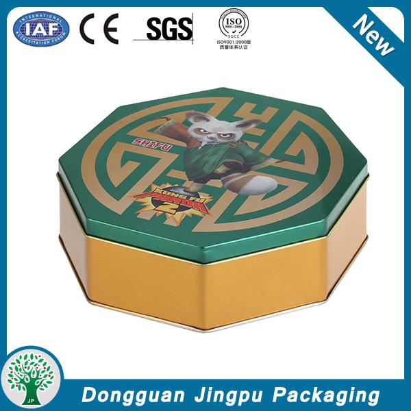 Small size round aluminum box