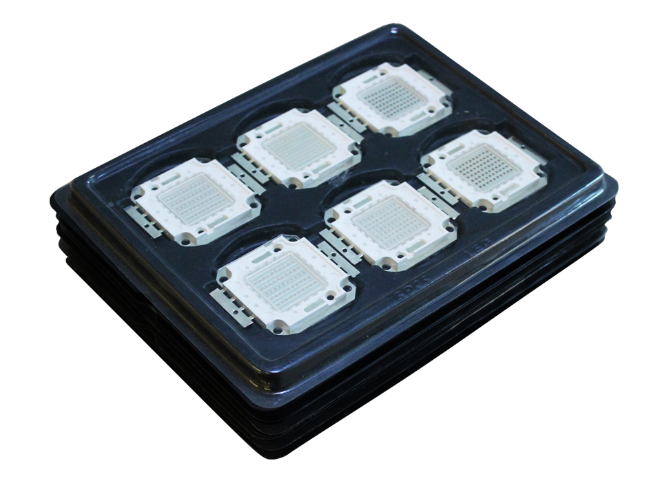 30W RGB led with cob package, bridgeLux chip