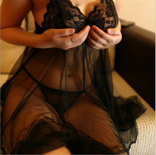 2015 Sexy Underwear Fashion Women Sexy Lingerie Hot Lady's Diaphanous Pajama Lace Skirt Sexy Sleepwear Plus Size lingerie QY050