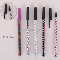 slogan printed simple BIC stick ball pen