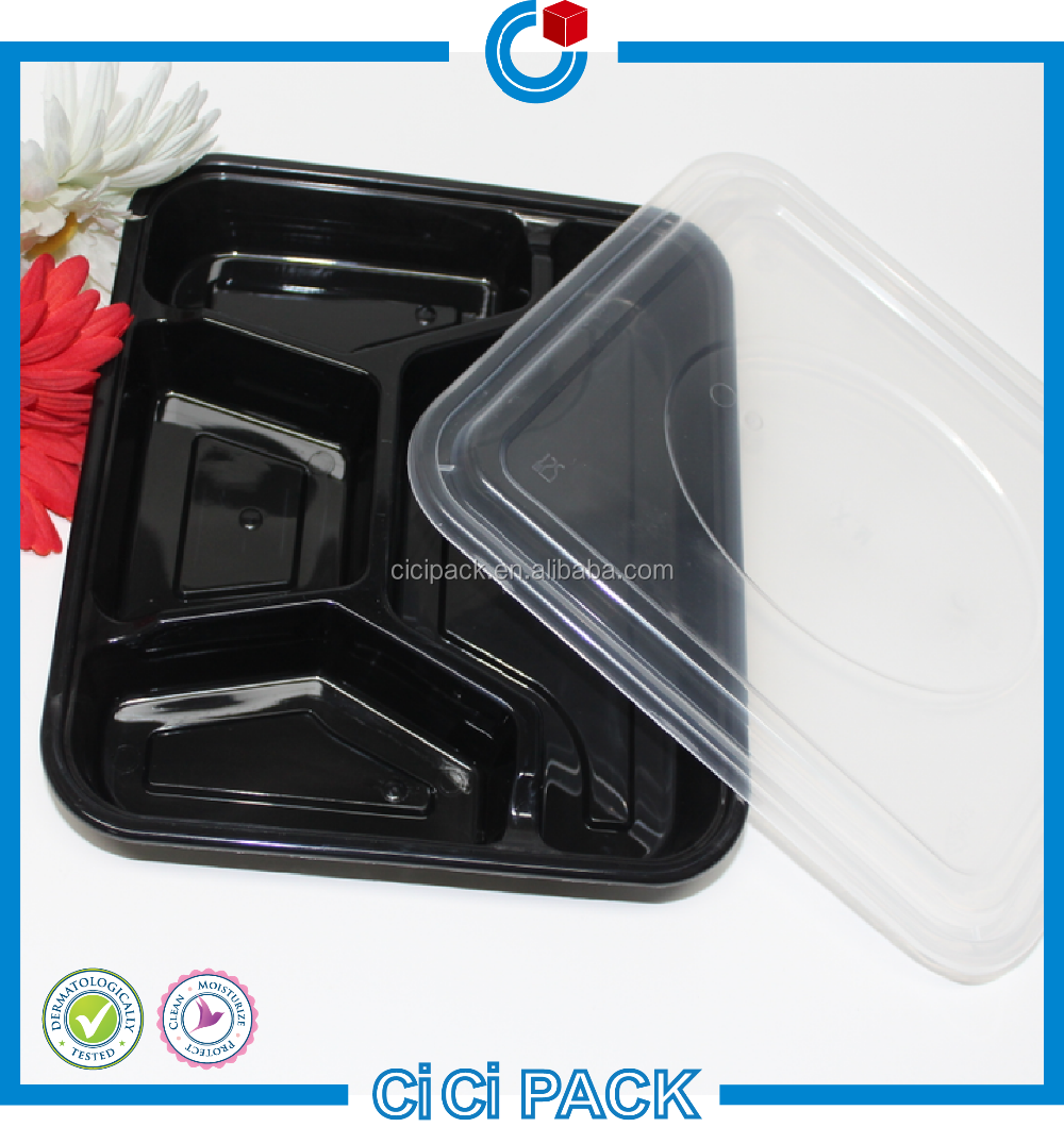 pp plastic bento luch box wholesale, plastic food packaging lunch box microwave