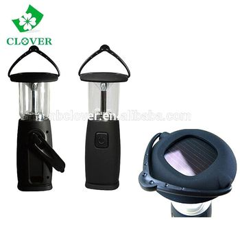 ABS 6 LED rechargeable led solar lantern for outdoor camping use