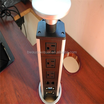 Pull Up Tower Desktop Socket Type/Kitchen Pop Up Outlet/Electric Table Power  Box