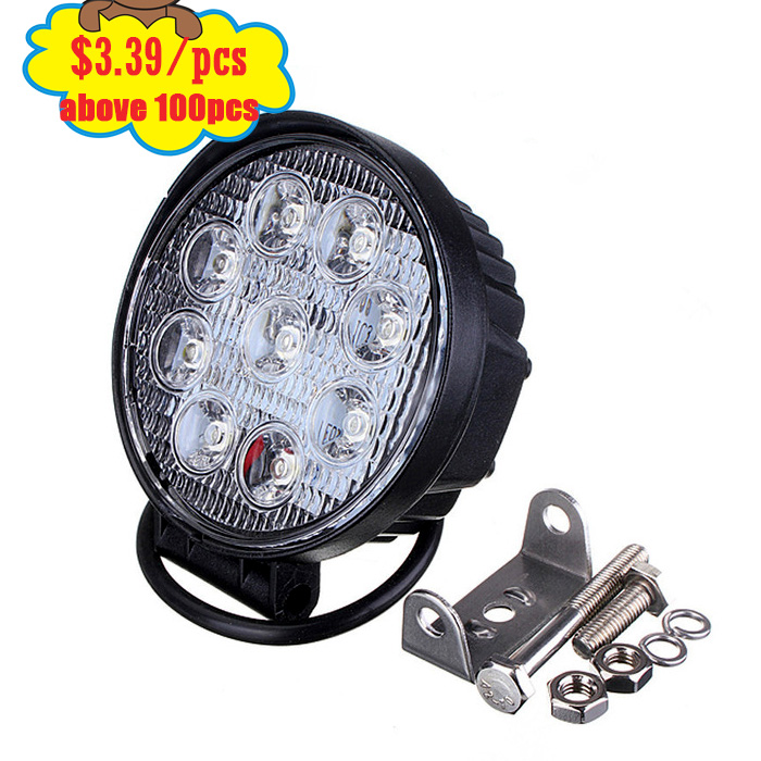 24w 25w 27w led work light for auto parts led headlights 18w led work light