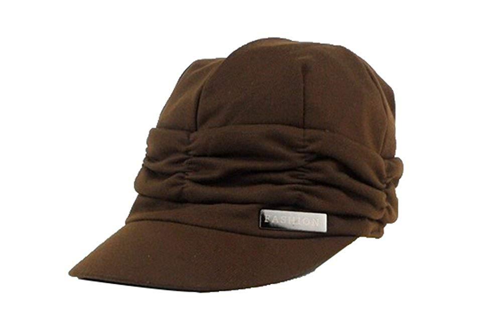 FOONEE Women Fashion Design Drape Layers Beanie Rib Hat