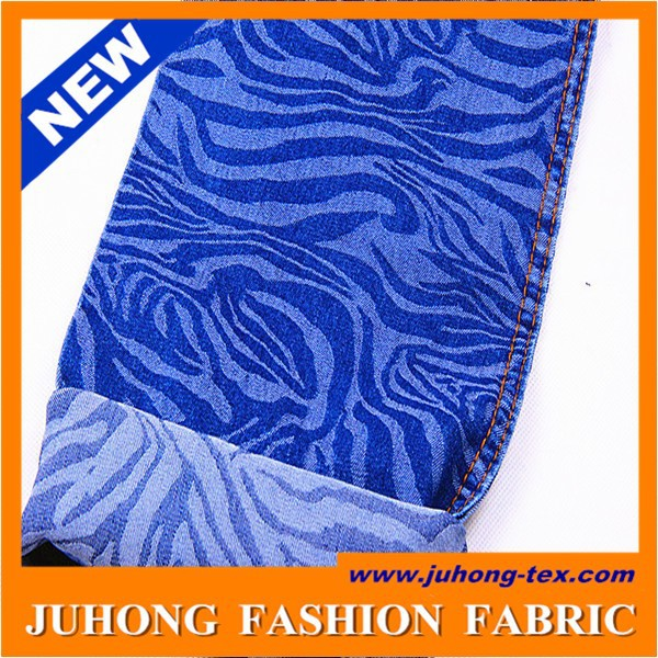 latest fashion dress design fabric of stripe denim