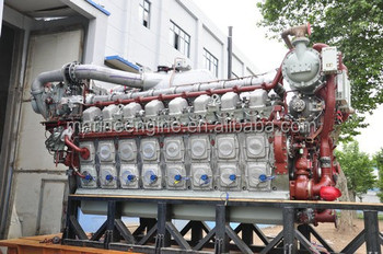 Pielstick Diesel Engine Pa6 Series For Marine Rail Road