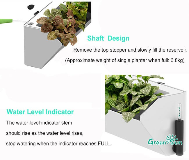 Diy Indoor Vertical Tower Garden Self Watering Planter Hydroponic