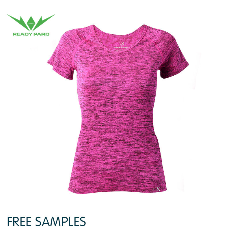 Sportswear fitness wear ladies yoga suit quick drying women lycra shirt for running