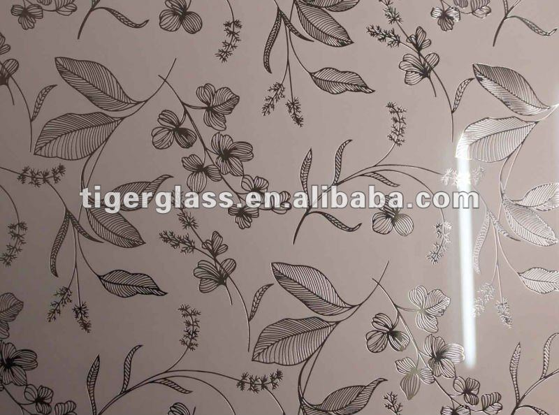 2012 best sale art glass mirror wall art murals