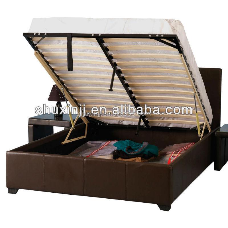 Storage Bed Gas Lift Ottoman Storage Bed