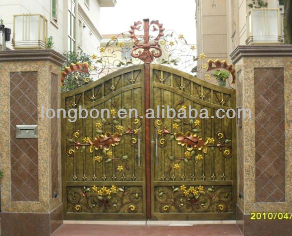 Top-selling New Modern Iron Main Gate Designs