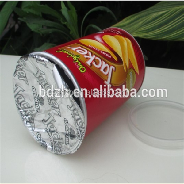 product detail High quality composite paper cans pringles