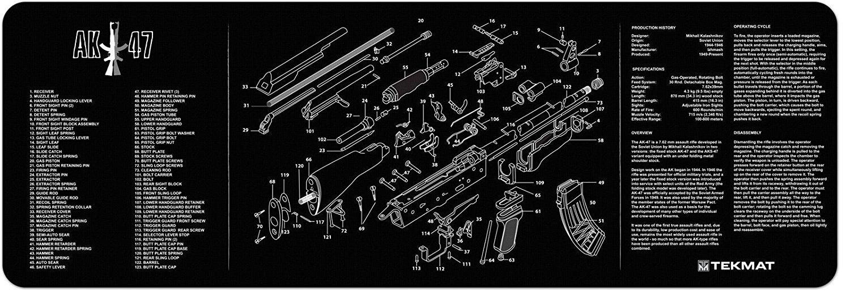 Phenomenal Buy Ak 47 Armorers Gun Cleaning Bench Mat With Ak47 Pdpeps Interior Chair Design Pdpepsorg