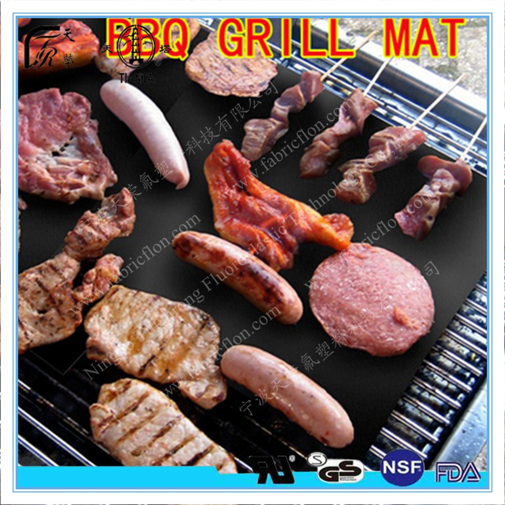 Fda Lfgb And Pfoa Free Ptfe Coated Fiberglass Non-stick Bbq Grill Mat - Buy  Bbq Grill Mat,Cooking Mat,Non-stick Bbq Mat Product on Alibaba com