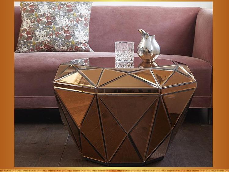 Ronde Fait Main À Buy En Basse Miroir Product Diamant Inoxydable table Forme Zhaohui Manger table Table Ronde De Moderne Acier stQrxhdCB