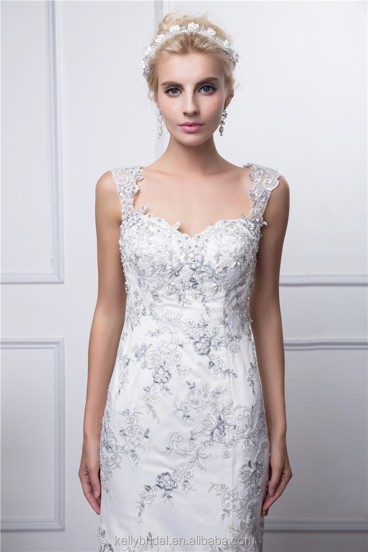Whole Beautiful New Style Bridal Actual Image Real Picture Wedding Night Dress Elegant Plain In South