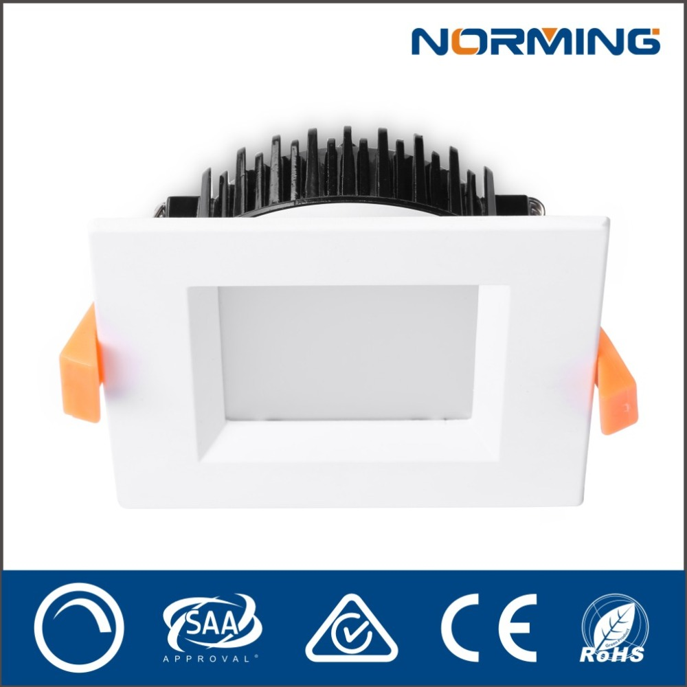 Best quality CE RoHS LED Alunminum designed led panel 10w IP44 square panel led light Indoor