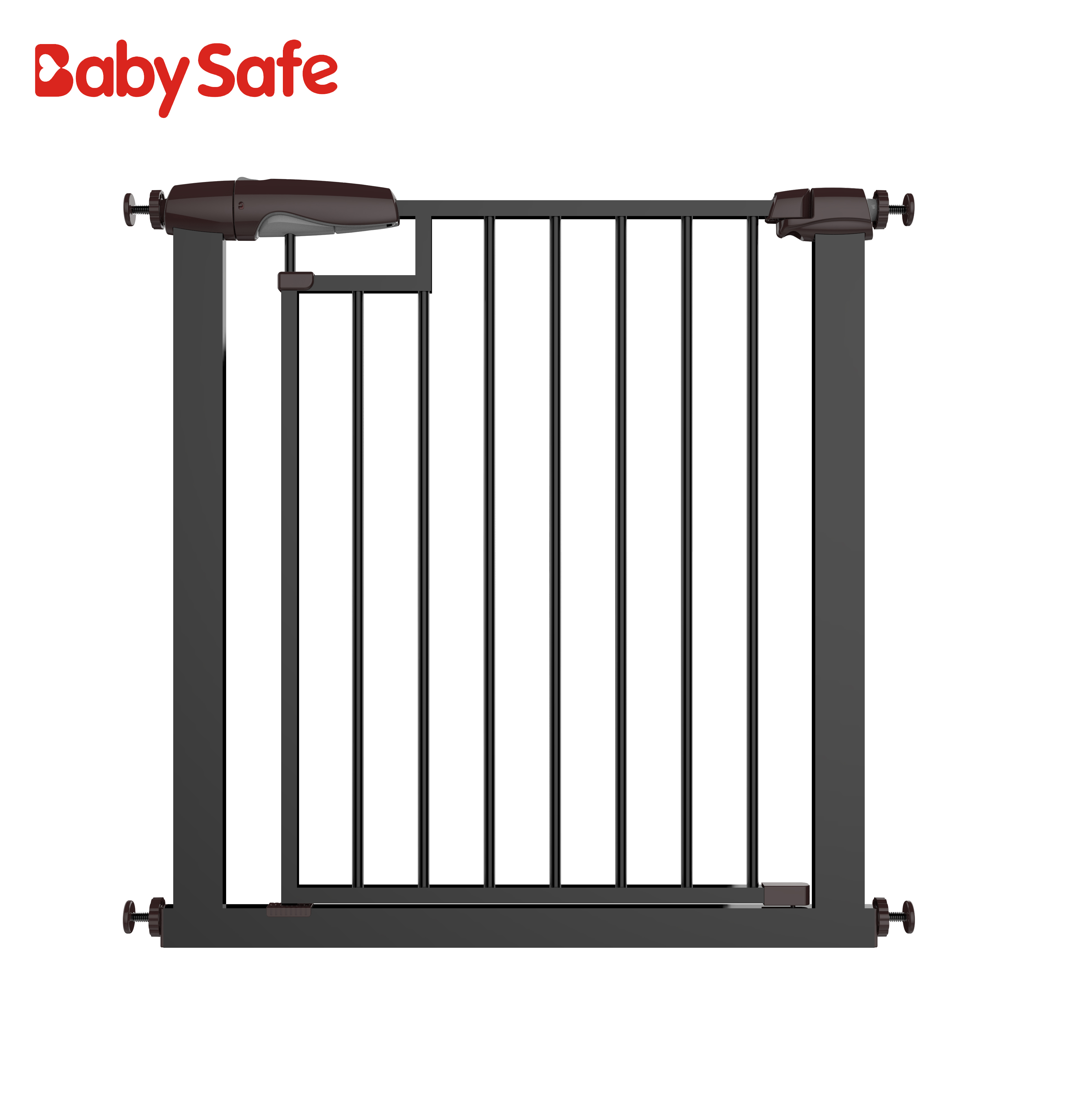 Baby safe Magnetic automatic retractable magnetic pet safety gate