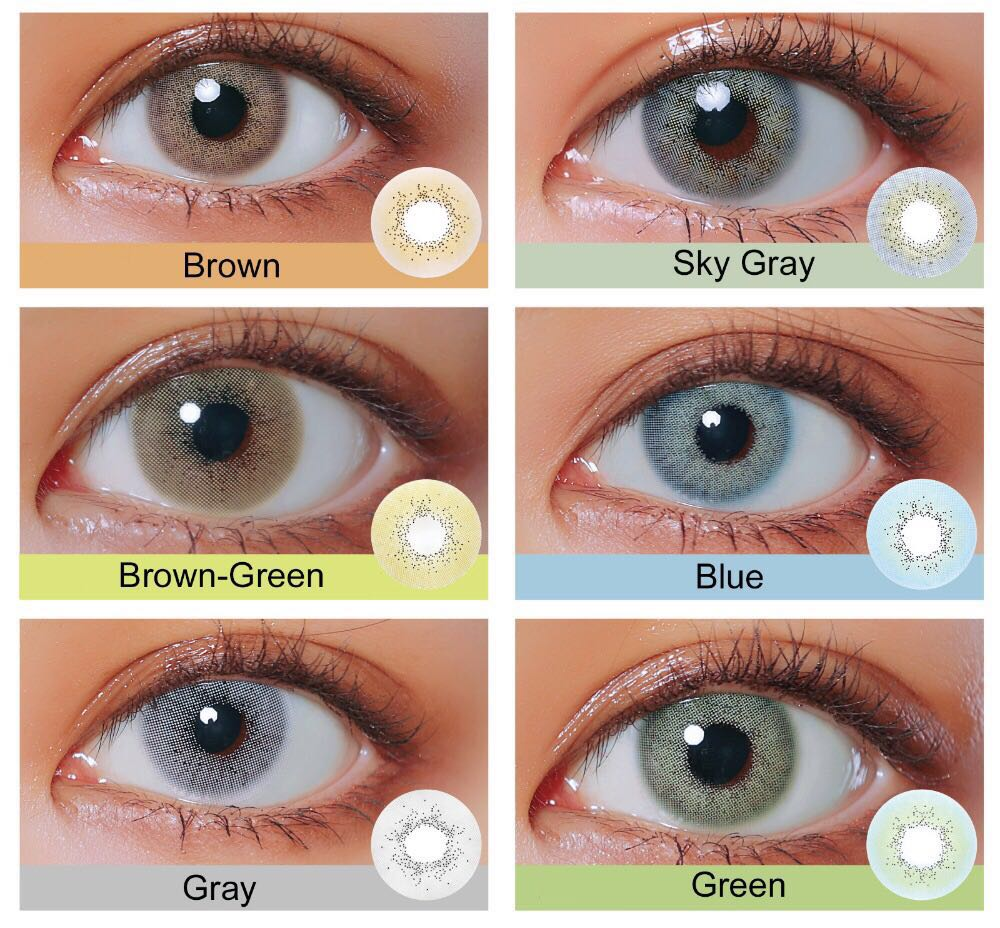 45ce02f488 Realcon Fancy Look Natural Color Eye Contact Lenses Supplier - Buy ...