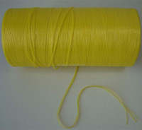 1mm*3KG Bright Yellow pp baler twine ,pp string spool