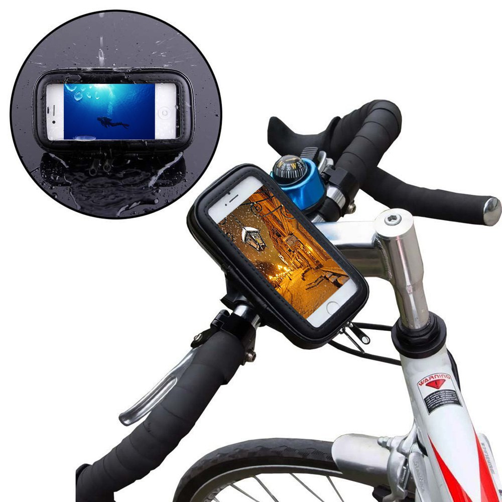 Cheap Bike Phone Pouch Find Deals On Line At Rockbros 010 4bk Mtb Handlebar Bag 6 Inch Waterproof Get Quotations Universal Bicycle Motorcycle Mount Holder Cycling For 5inch Cell